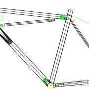 52cm bike frame geometry